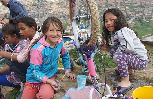 Nominada Mejor Iniciativa Infantil Bogotá Bici Awards